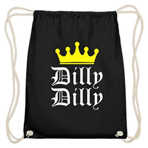 Generisch Dilly Dilly - kroon, vrienden, vriendschap, feest, alcohol, drinken, bier - Katoen gymzak