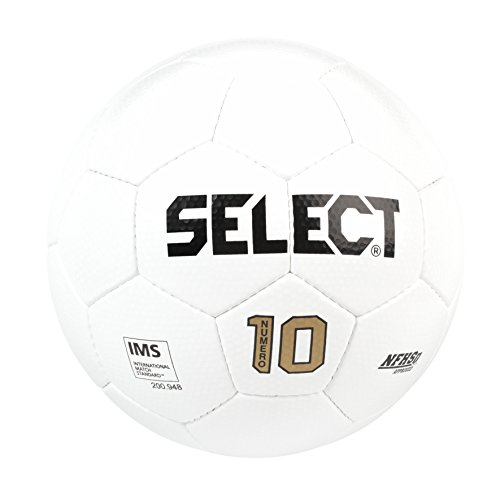 SELECT Numero 10 Soccer Ball, White, Size 4