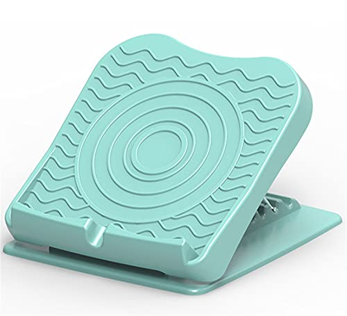 ストレッチボード、調節可能な斜板の足磁石マッサージ、ストレッチタイトな子牛の足底の鱗膜炎を延伸するための伸縮板 (Color : Green)