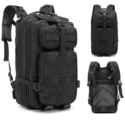 Umitvaz Zaino Tattico Militare 30L, Assault Backpack Zaini 3 Day dell Esercito Zaino per Caccia, Molle da Zaino Unisex, Trekking e Campeggio e attività All aperto
