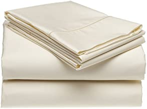 Casual Elegance CE-400 True Color Ultra Microfiber 4pc King Sheet Set - Ivory