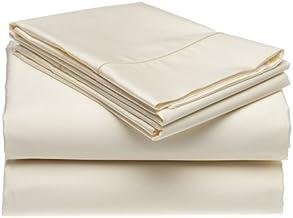 Casual Elegance CE-400 True Color Ultra Microfiber 4pc King Sheet Set - Ivory