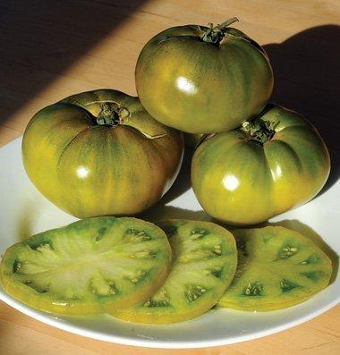 David's Garden Seeds Tomato Beefsteak Cherokee Green SAL8212 (Green) 50 Non-GMO, Heirloom Seeds