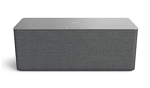 Philips W6505/10 WLAN Lautsprecher Multiroom-Audio für Zuhause kabellos (80 W, Kompatibel mit DTS Play-Fi, Verbindung mit Sprachassistenten, Integrierte LED, Ambilight, Stereoklang) - 2020/2021 Modell