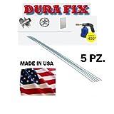 Barrette/Bacchette/Verghette Saldatura alluminio 5 pz DURAFIX/DURA FIX ALMAGIC