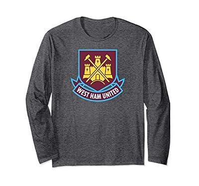 West Ham United Color Castle Long Sleeve T-shirt Charcoal