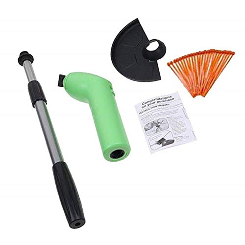 Amazing Deal isilky Cordless Electric Power Grass Trimmer & Weed Wacker(not Included Batteries)