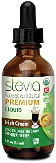 ANUMED INTERNATIONAL Irish Cream Stevia Liquid, 0.02 Pound