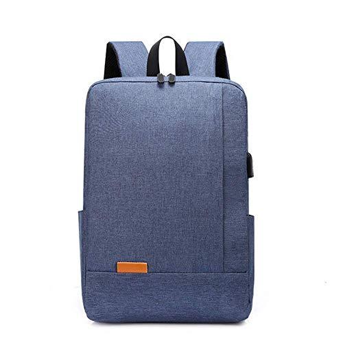 FAOAOTT Laptop Backpack 15.6 Inch Water Resistant School Bookbag Wide Open Travel Work Rucksack Bag with USB Charging Port, Casual Daypack for Women Men