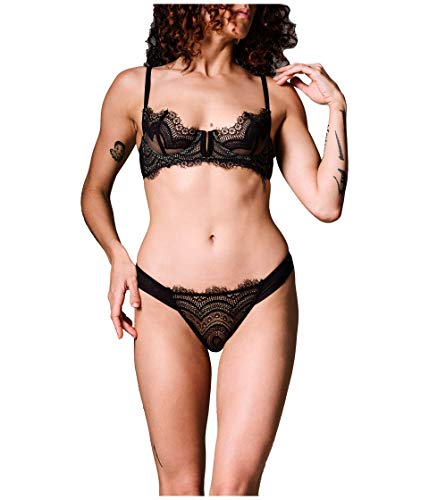 Thistle & Spire Manhattan Bra Black 32D