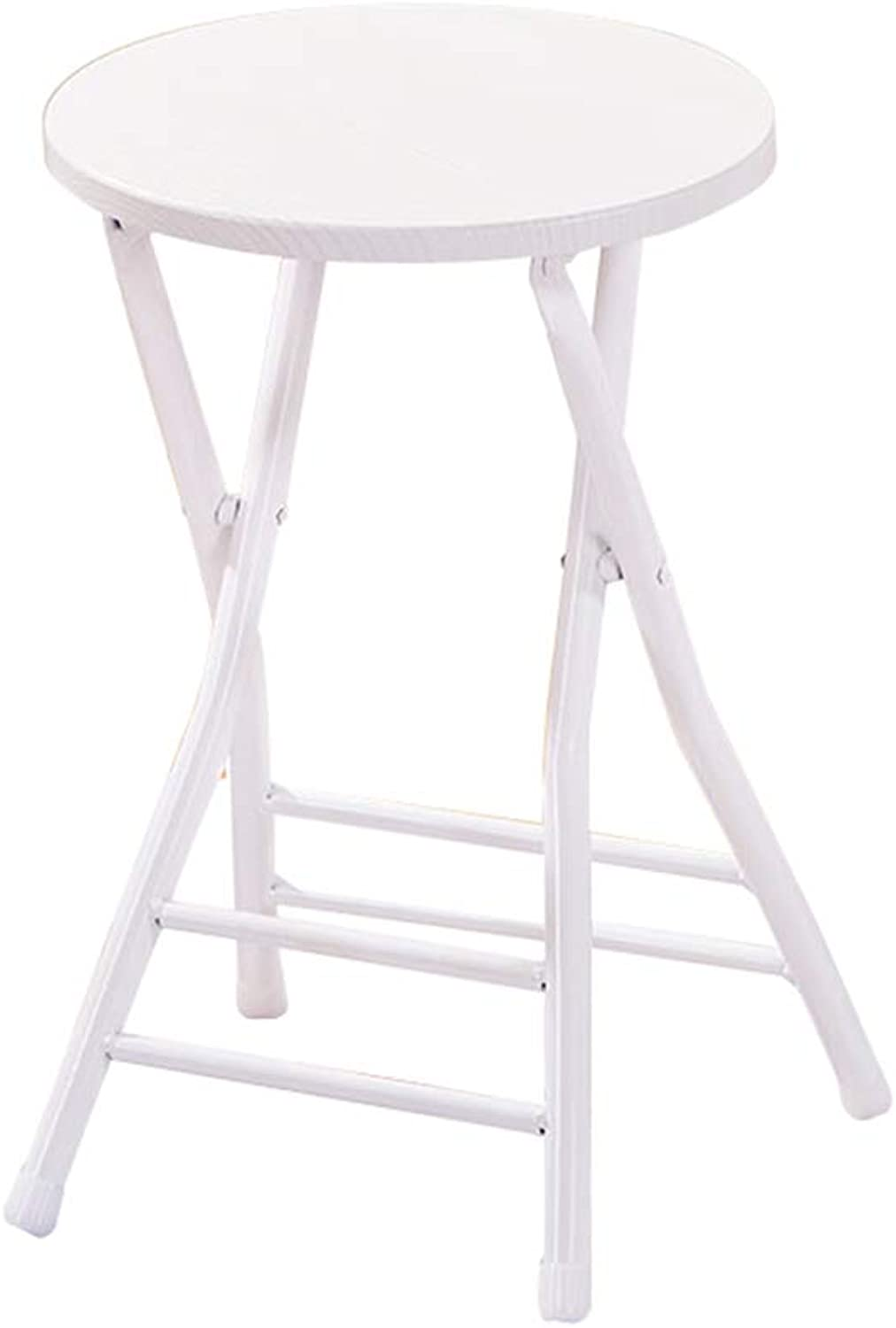 Stool - Folding Chair, Household Dining Table and Chair, Modern Minimalist Stool Portable Desk Chair (color   A)
