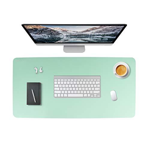 Ewinsun Ordenador Alfombrilla Escritorio de Oficina, Protector de Escritorio Pad & Mouse Pad ultrasuave Bloc 80 x 40 cm (Menta verde)