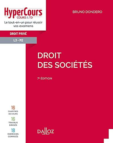 Droit des sociétés - 7e ed.