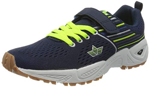 Lico Unisex dziecięce buty sportowe Colchester Vs, niebieski - Marine Black Lemon - 27 EU