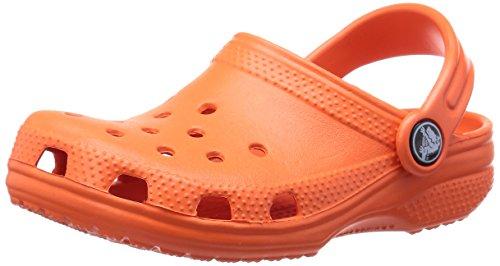 Crocs - Classic - Sabots - Mixte Enfant - Rouge (Tangerine) - 22-24