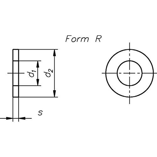 Ruiten vorm R S-F-R-gv 4
