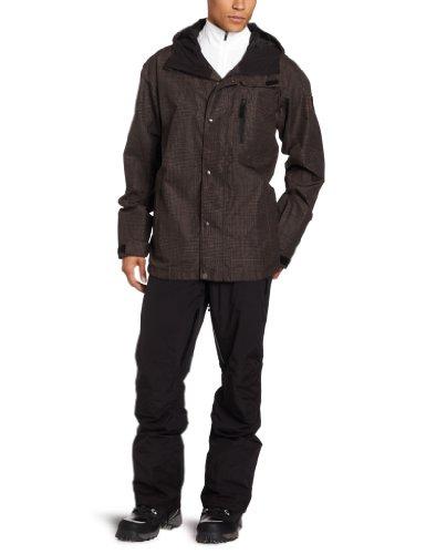Quiksilver Snow - Chaqueta de Hierro para Hombre, Chaqueta para Nieve, Hombre, Color marrón, tamaño M