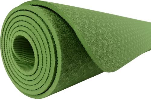 Madworld73 Yoga/Pilates Mats, Yoga Mat TPE Eco Friendly Non Slip Fitness Exercise Mat...
