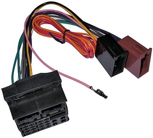 AERZETIX - Fascio adattatore - Cavo cablaggio - Spina ISO - Per autoradio - C11912