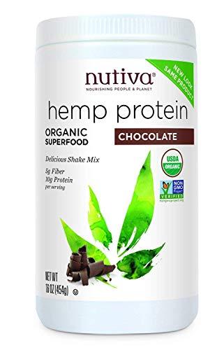 Nutiva Organic Hemp Shake Chocolate 454g