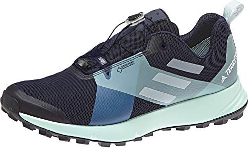 adidas Terrex Two GTX W, Scarpe Running Donna, Multicolore (Tinley/Griuno/Azubri 0), 36 2/3 EU