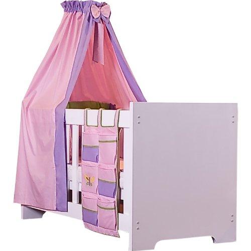 15piezas Baby Juego de cama de Spring en color rosa, colorblanco