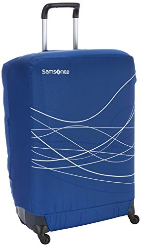 Samsonite Travel Accessories 5 - Foldable Luggage Cover L, Funda de Equipaje, Indigo Blue (Azul)