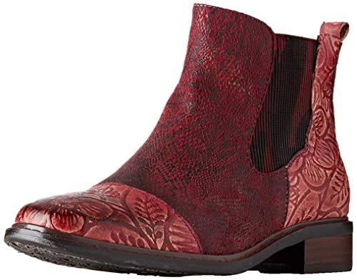 Laura Vita Damen ERCWINO 02 Chelsea Boots, Rot (Rouge Rouge), 37 EU
