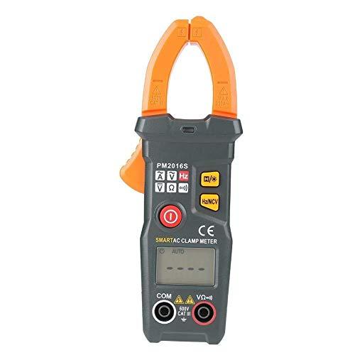 YAeele Profesional metro de la abrazadera, PM2016S AC 200 Una pinza amperimétrica multímetro digital automático con pantalla LCD for la medición de corriente y tensión multímetro