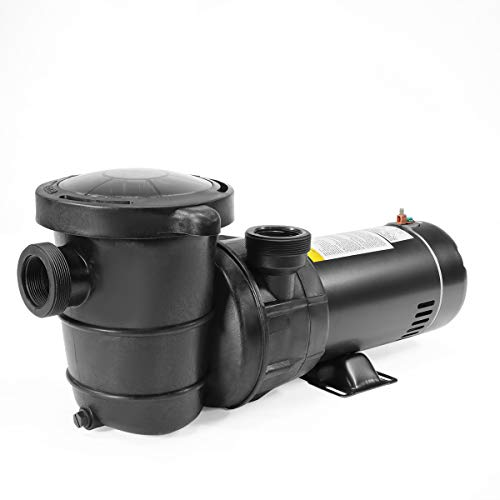 XtremepowerUS 1.5HP High Flow Pool Pump Self Prime Above Ground Swimming Pool Spa Pump 1.5' NPT w/Strainer Basket Filter