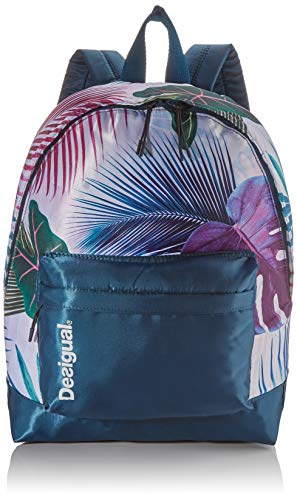 Desigual Bio Patching Backpack Azul Polar