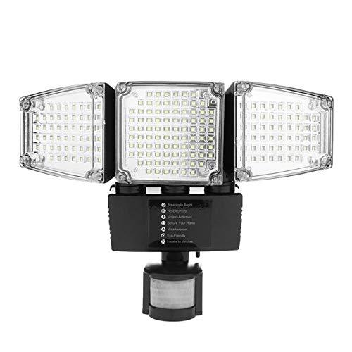 HFFFHA 2020 Neue 188 LED High Lumen LED-Flutlicht intelligentes Solarflutlicht IP65 Wasserdichten Outdoor-Garten-Bewegungs-Sensor Spotstrahler