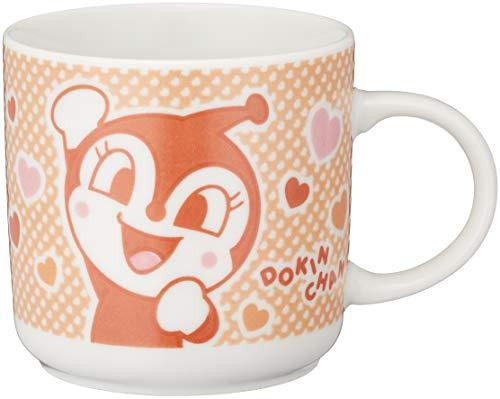 「 それいけ!アンパンマン 」 ドキンちゃん マグカップ 200ml 子供用 食器 オレンジ 079332