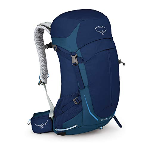 Osprey Stratos 26 Men's Ventilated Hiking Pack - Eclipse Blue (O/S)