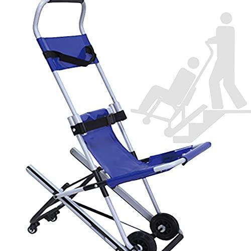 Silla De Ruedas para Subir Escaleras, Silla Salvaescaleras, Elevadores De Escalera, para Personas Mayores, para Casas Y Escaleras Estrechas,Blue