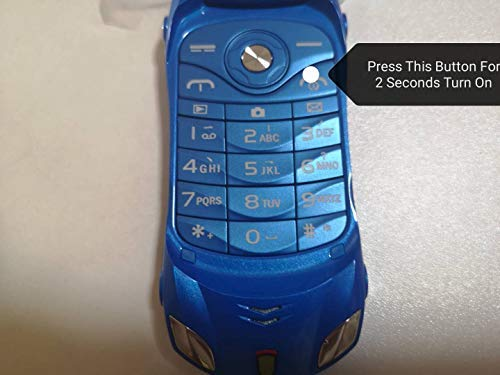 Sports Car Model F15 Mini Flip Phone