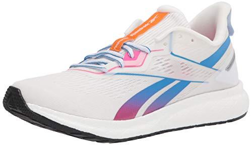 Reebok womens Forever Floatride Energy 2 Running Shoe, White/Horizon Blue/Proud Pink, 7 US