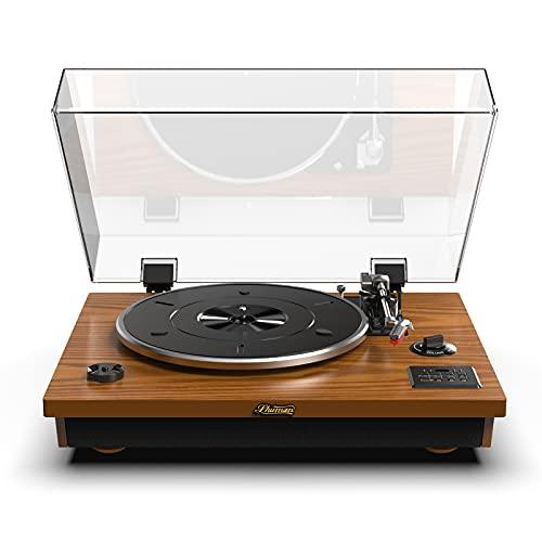 La Platine Vinyle SHUMAN Concise-Classic Comprend : Lecteur Vinyle/USB/Bluetooth/AUX in