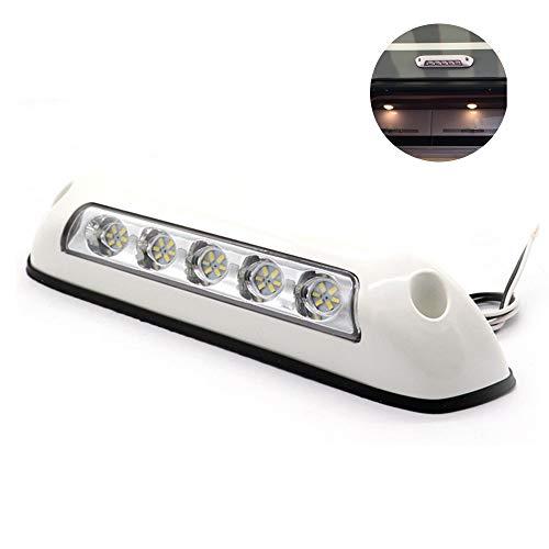 RASHION 1 par de luces LED de 12 V RV para toldo de porche, impermeables, para caravanas, barcos, barcos, caravanas, furgonetas