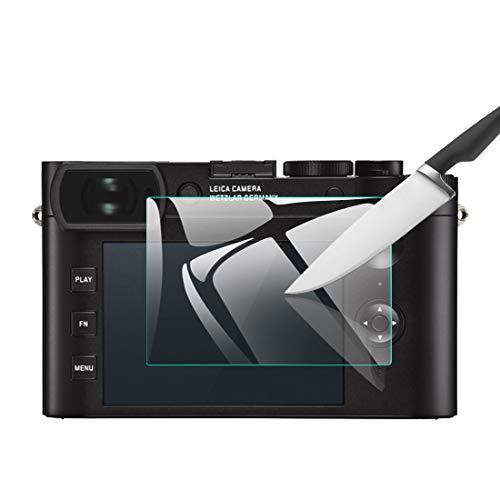 EternalStars 3枚セット 液晶保護フィルム LEICA デジタルカメラ ライカ Leica Q2専用 硬度9H 高透過率 耐指紋 気泡無し 強化ガラス 厚さ0.3mm (Leica Q2専用)