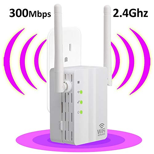 YangYe Refuerzo WiFi, 300Mbps 802.11n Wireless 2.4g Firewall Router repetidor Extensor de Refuerzo repetidor for Xiaomi wi fi WiFi versterk (Color : EU Plug)