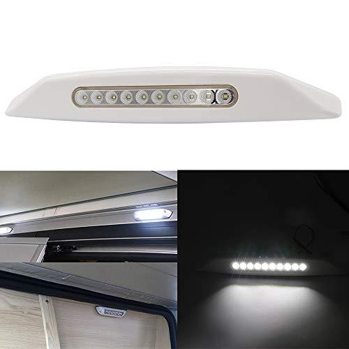 luces de toldo,Tickas Barra de luz de las lámparas exteriores impermeables de la lámpara del toldo de 12V LED para la caravana RV Van Camper de Motorhome