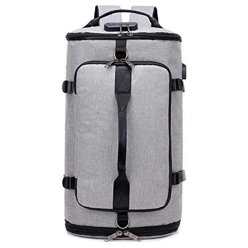 CAONIDAYE Mochila para hombre y mujer, bolsa de viaje de gran capacidad, mochila para computadora de ocio al aire libre, mochila recargable