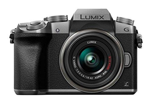 Panasonic Lumix DMC-G7 + G Vario - Cámara Digital, 14 - 42 mm, Auto, Electrónico, Batería, MILC, (Versión Importada)