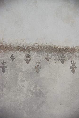 Jeanne d' Arc Living Schablone Stencil Template -French Lilies- 700348 Vintage Landhaus Shabby French Nostalgie