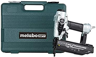 Metabo HPT Brad Nailer, Pneumatic, 18 Gauge, 5/8-Inch up to 2-Inch Brad Nails, Tool-less Depth Adjustment, Selective Actuation Switch, 5-Year Warranty (NT50AE2)