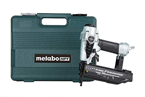 Metabo HPT Brad Nailer, Pneumatic, 18 Gauge, 5/8-Inch up to 2-Inch Brad Nails, Tool-less...