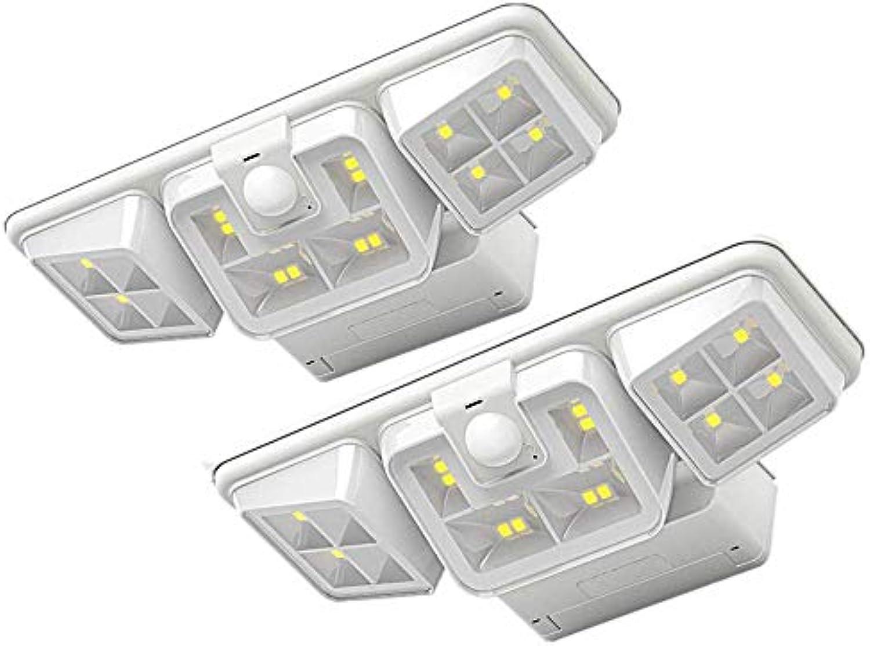 Solarauenhof Wandleuchte, Wasserdichtes Intelligentes Lichtsteuerungslicht, Geeignet Für Die InsGrößetion Auf Strae, Haustür, Fahrspur