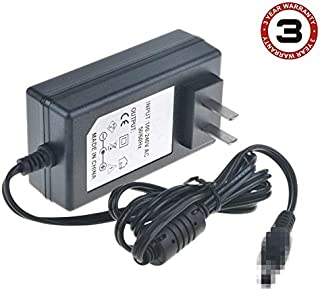SLLEA 18V AC/DC Adapter (W/Coaxial Plug) Compatible with Minimoto Electric Pocket Bike Parts 18 Volt Scooter Charger Power Supply Cord Battery Charger (with Barrel Round Plug Tip)