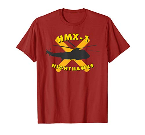 HMX-1 Nighthawks Presidential Helicopter Squadron VH-3D Tee